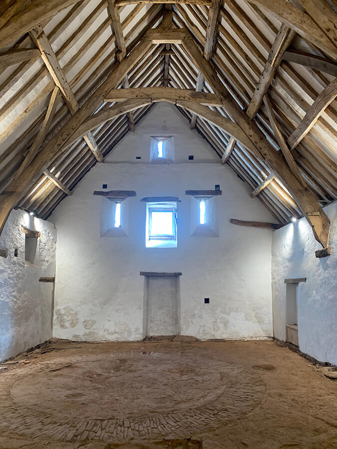 Winterbourne Medieval Barn  Image